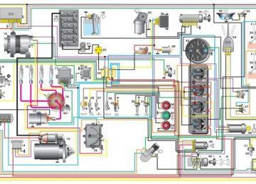 Электросхема для УАЗ 3962