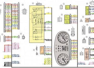 Электросхема для Лады Калины 1118
